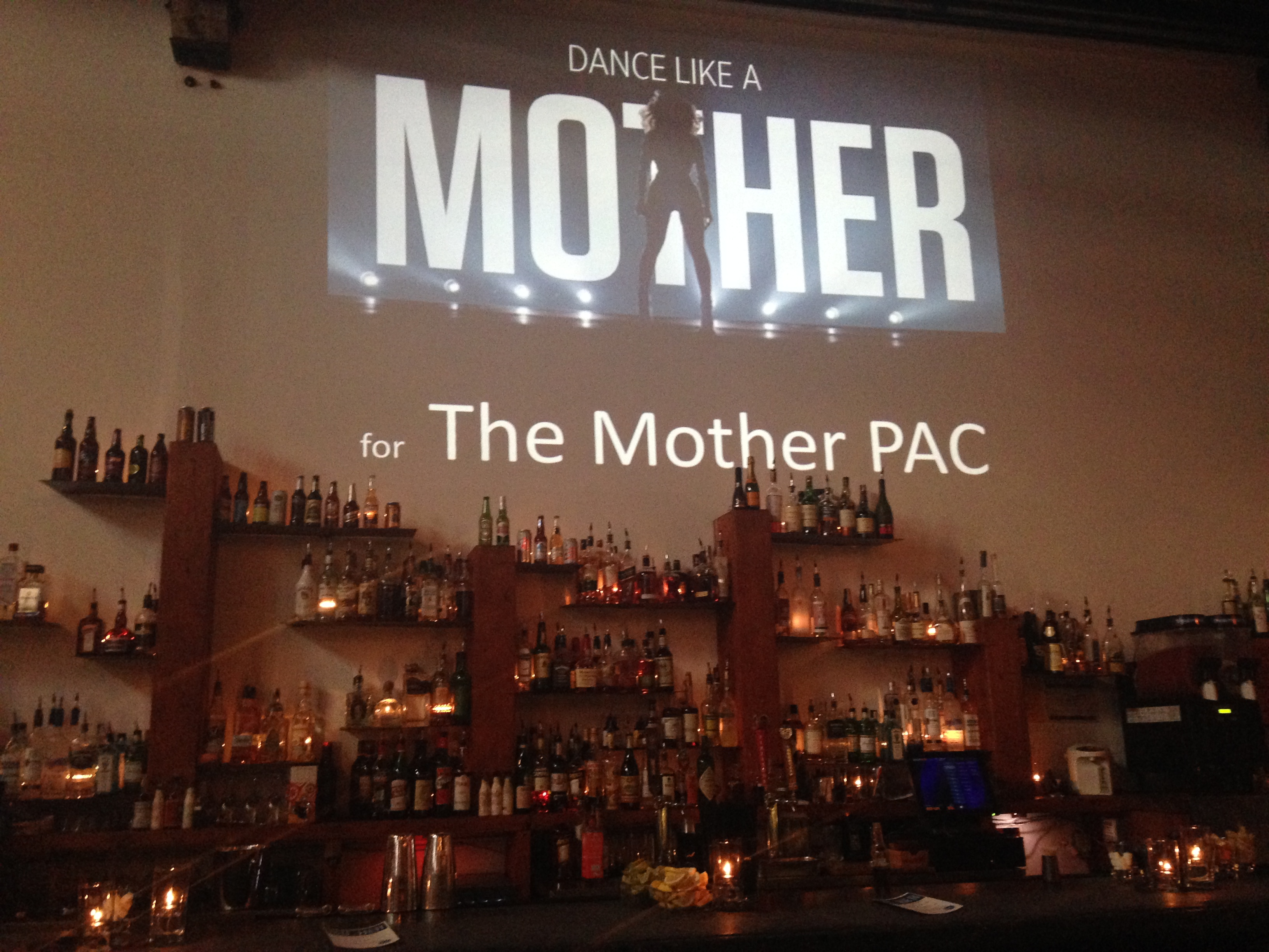 Dance Like a Mother | Behind the Holocene bar.